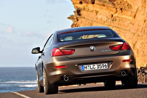 BMW Serie 6 Gran Coupé (trasera)