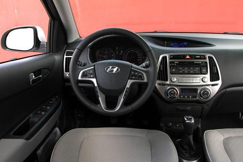 Hyundai i20 (interior)