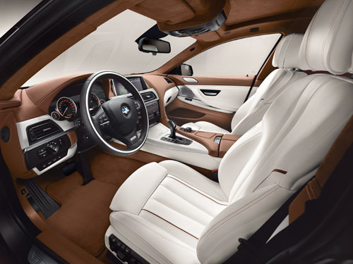 BMW Serie 6 Gran Coupé (interior)