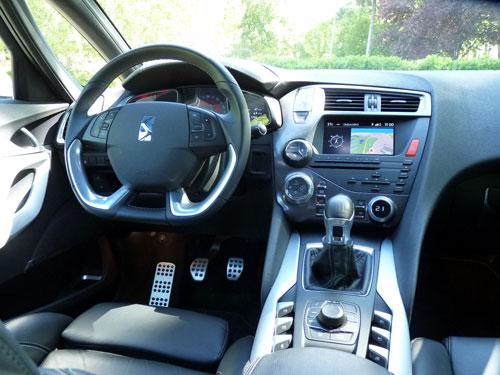 Citroën DS5 2.0 HDI Sport 163 CV (interior)