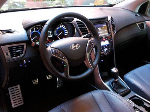 Hyundai i30 (interior)
