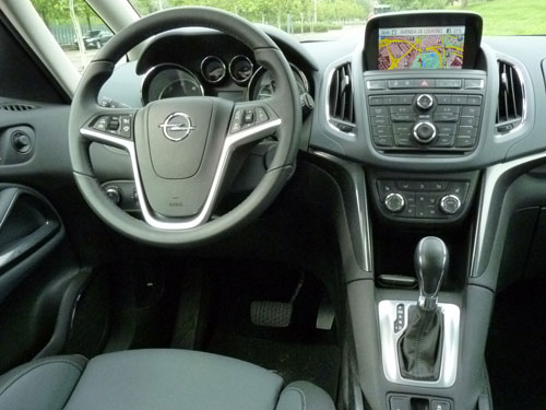 Opel Zafira 2.0 CDTi 165 CV (interior)