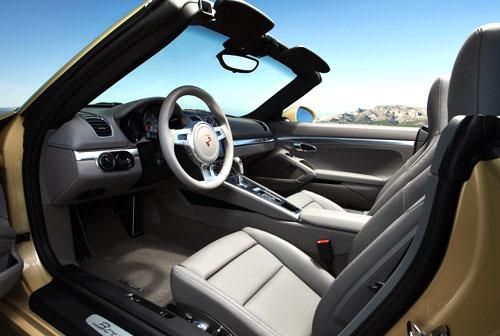 Porsche Boxster (interior)