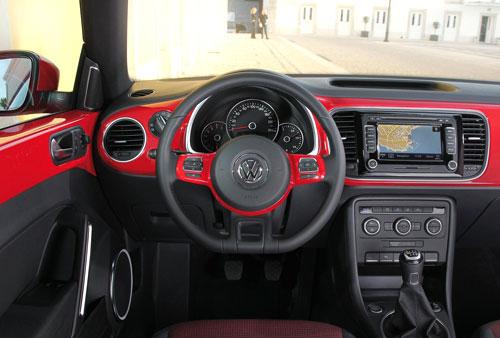 Volkswagen Beetle (interior)