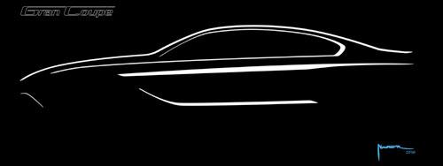 BMW Serie 6 Gran Coupé (boceto)