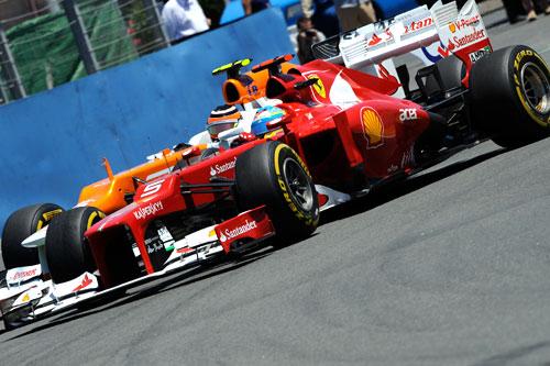 Fernando Alonso GP Valencia 2012