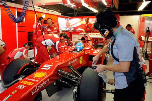 GP de Europa de F-1 - Fernando Alonso - Ferrari