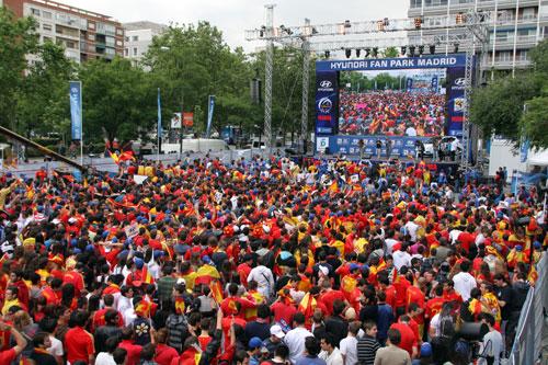 Hyundai Fan Park - Mundial de Futbol