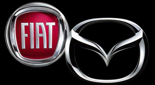 Logo Fiat y Mazda