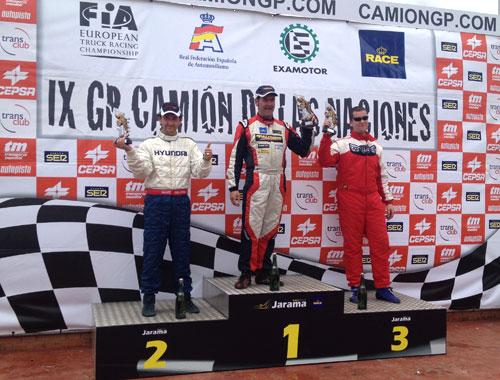 Podio Trofeo Race de Turismos - Jarama