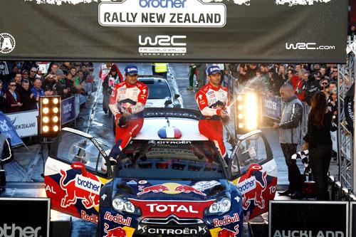 Rally Nueva Zelanda 2012