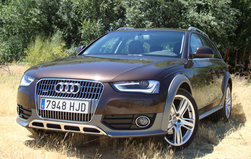 Audi A4 Allroad (frontal)