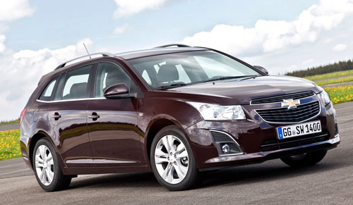Chevrolet Cruze Station Wagon (frontal)