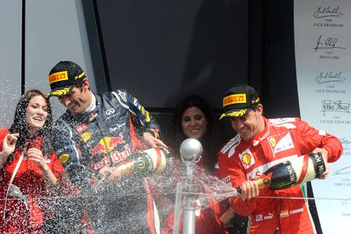 Fórmula 1 - GP Inglaterra (podio)