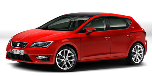 Seat León 2012 (frontal)