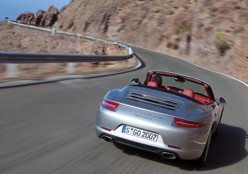 Porsche 911 Cabriolet (traserra)