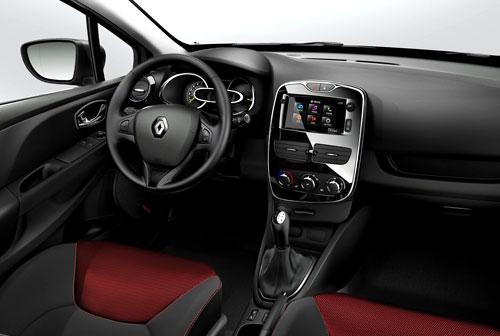Renault Clio (interior)