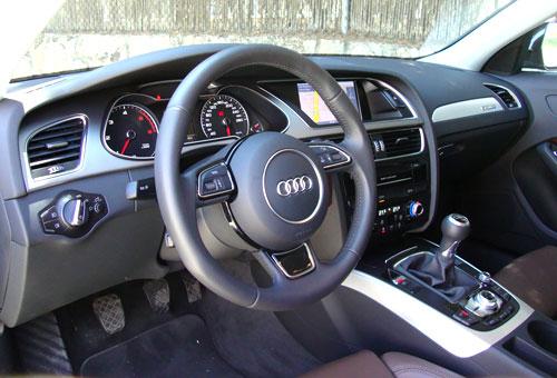 Audi A4 Allroad (interior)