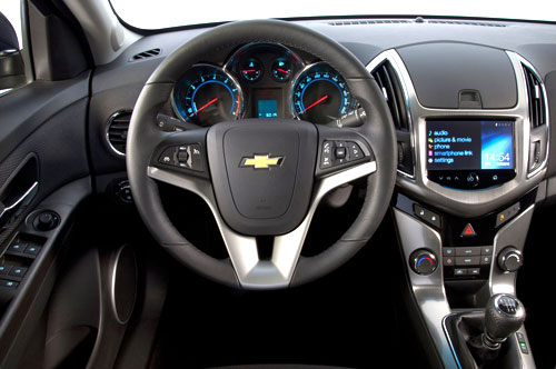 Chevrolet Cruze Station Wagon (interior)