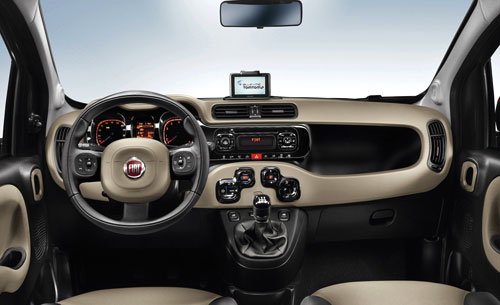 Fiat Panda (interior)