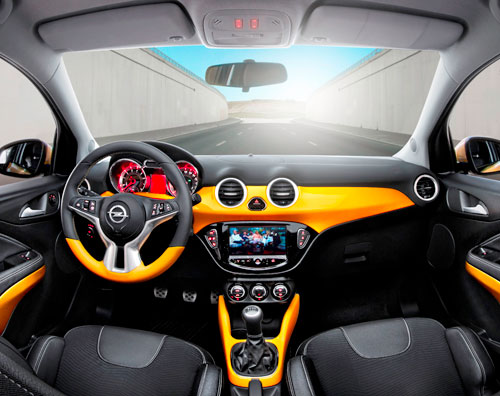 Opel Adam (interior)
