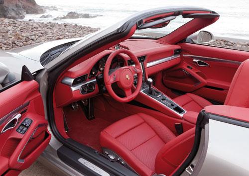 Porsche 911 Cabriolet (interior)