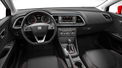 Seat León 2012 (interior)