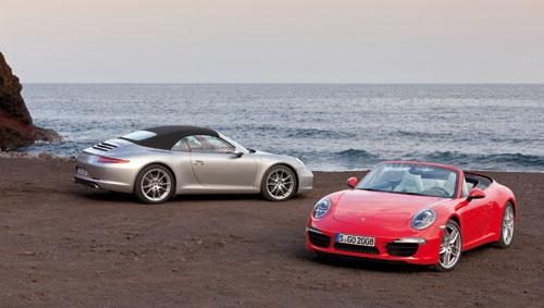 Porsche 911 Cabriolet (capota)