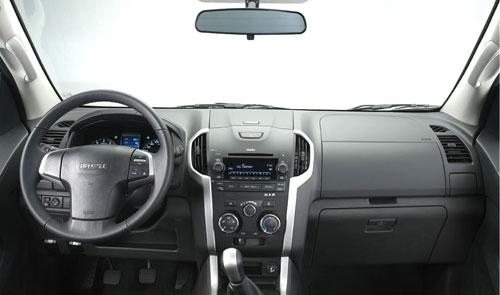 Isuzu D-Max (interior)