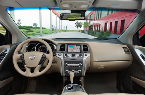 Nissan Murano (interior)