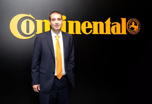 Jon Ander García, director general de Continental Tires España