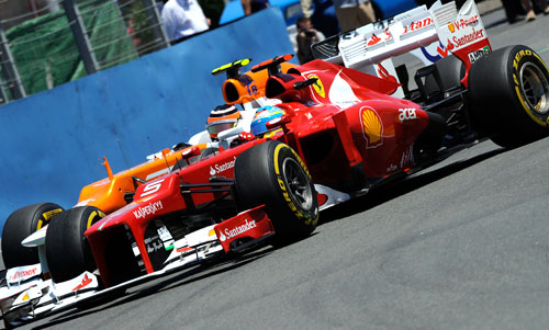 Fernando Alonso - Fórmula 1 - GP Hungría