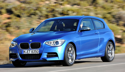 BMW Serie 1 3p (frontal)
