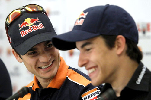 Gran Premio de Italia - MotoGP - Dani Pedrosa y Marc Márquez
