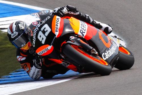 Marc marquez Moto2 Gran premio Holanda