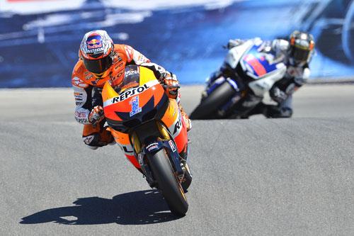 Casey Stoner - Jorge Lorenzo - Moto GP - EEUU - Laguna Seca