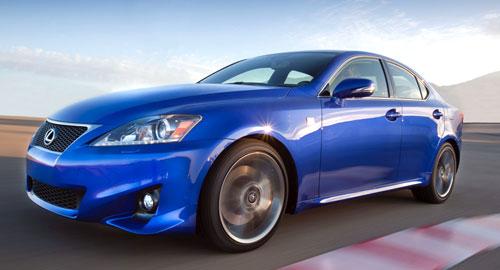 Lexus IS 200d (frontal)