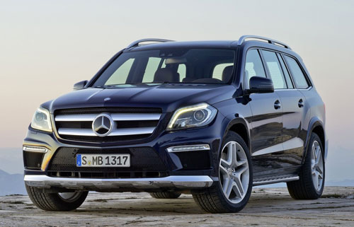 Mercedes-Benz GL (frontal)