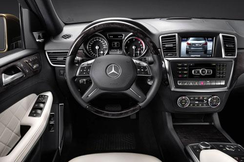 Mercedes-Benz GL (interior)