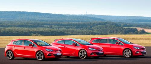 Gama Opel Astra Biturbo