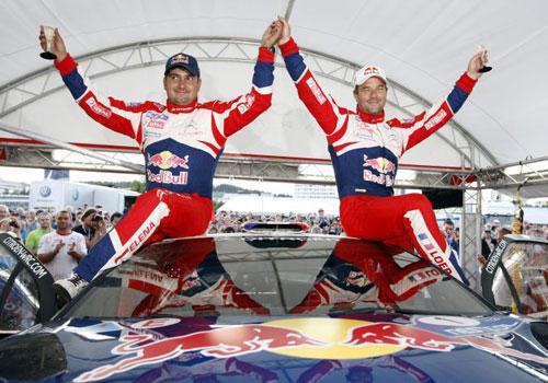 Sebastien Loeb - Rally Finlandia