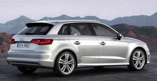 Audi A3 Sportback S Line (trasera)