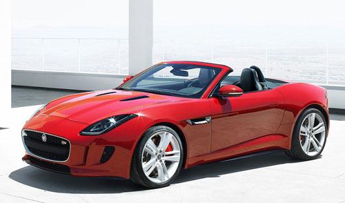 Jaguar F Type (frontal)