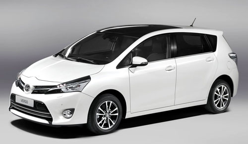 Toyota Verso (frontal)