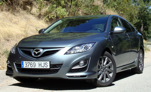 Mazda 6 2.2 CRTD Iruka (frontal)