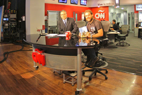 Miquel Silvestre en la CNN