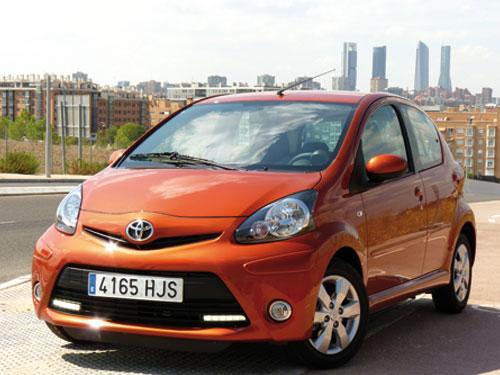 Toyota Aygo (frontal)