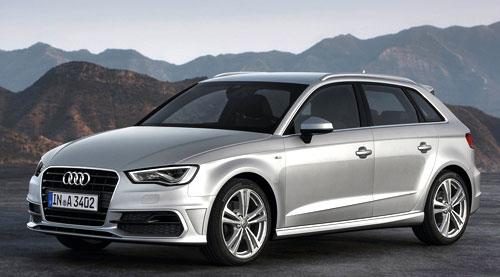 Audi A3 Sportback S Line (frontal)
