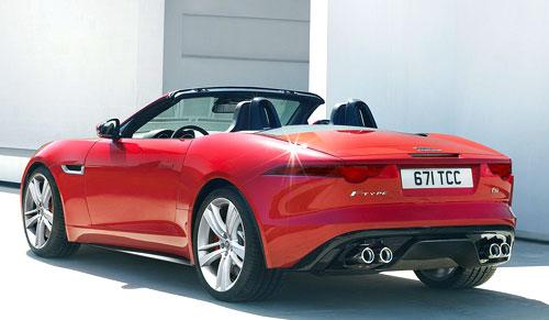 Jaguar F Type (trasera)