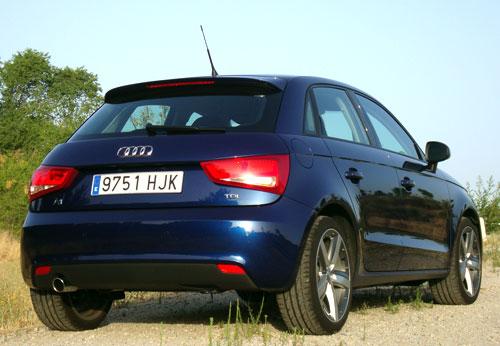 Audi A1 Sportback (trasera)